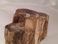 Diamond Stud Earrings with Diamond Halo