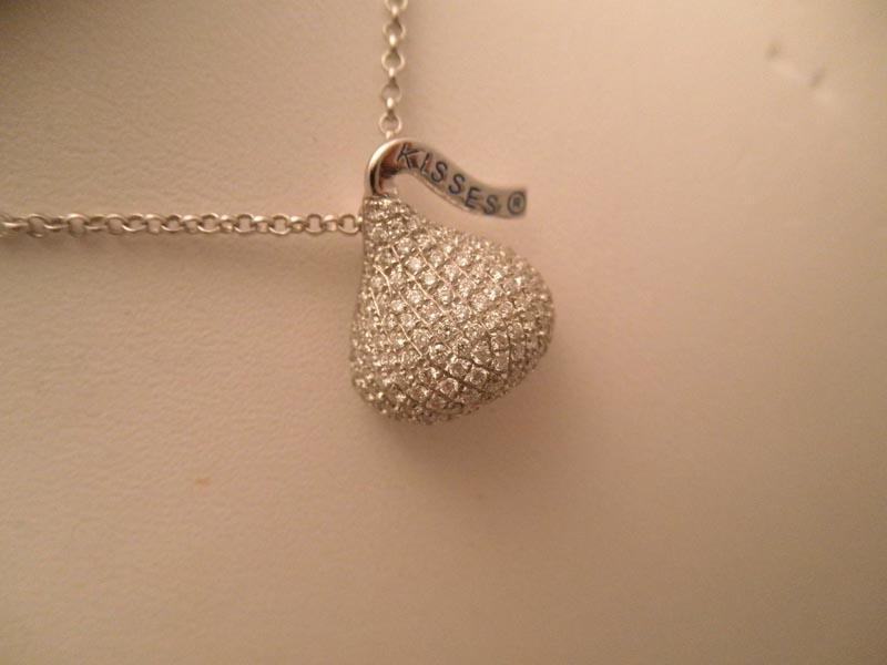 Hershey's Diamond Kiss Necklace