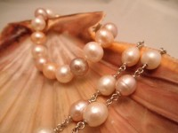 Multi-colored Fresh Water Cultured Pearls